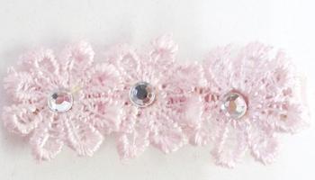 Image Triple Crochet Flower Clippie
