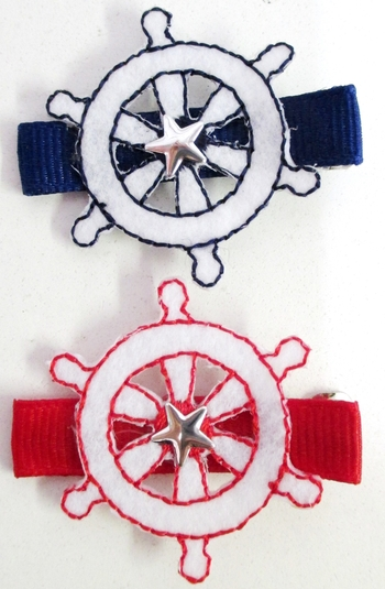 Image Nautical Ships Wheel Clippie