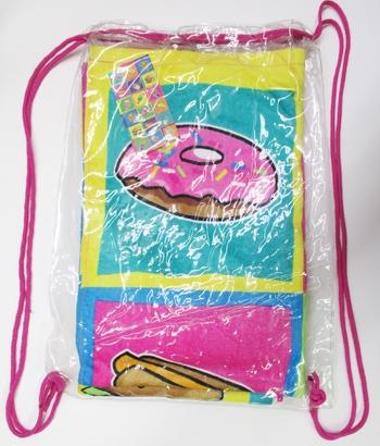 Image Junk Food Towel in Bag