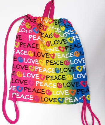 Image Brushstroke Canvas Sling Bag