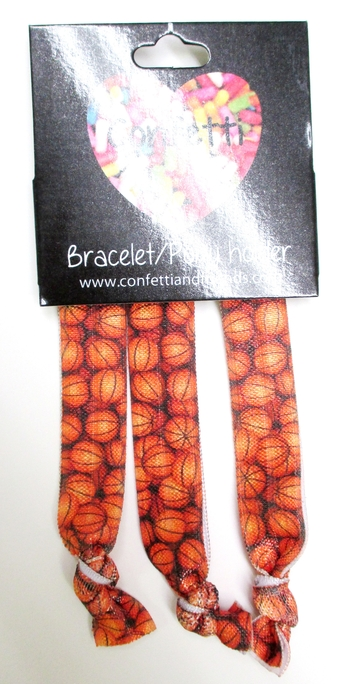 Image Basketball 3pcs Bracelet Pony Set