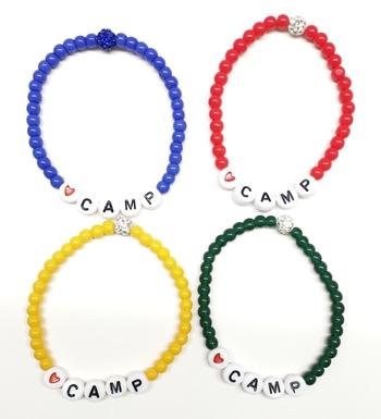 Image Camp Beaded Shamballa Bracelet