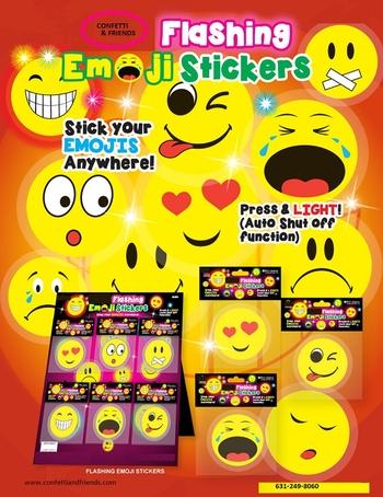 Image Emoji Flashing Stickers
