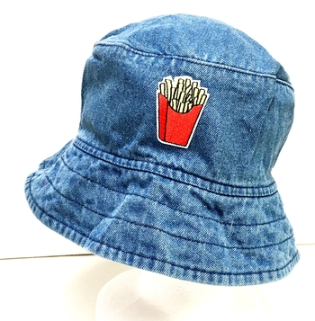 Image Denim Patched Bucket Hat