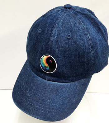 Image Denim Patched Baseball Hat