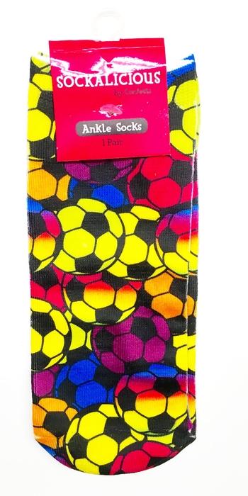 Image Rainbow Soccer Socks