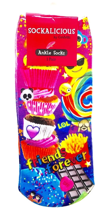 Image Friends Forever Junkfood Socks