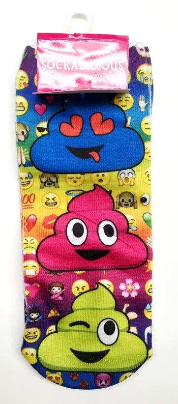 Image Emoji Poop Socks