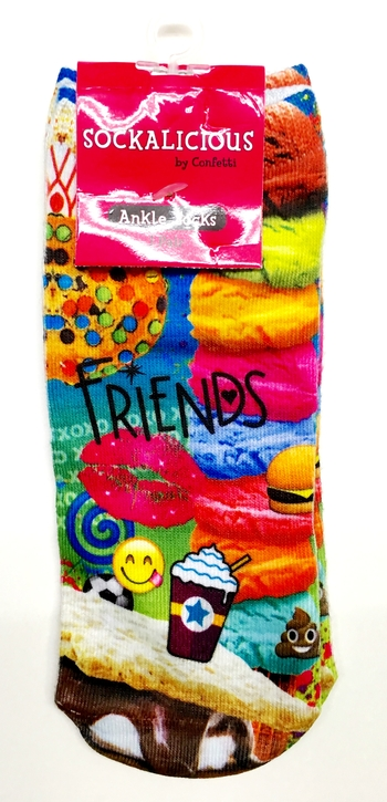 Image Friends Collage Socks