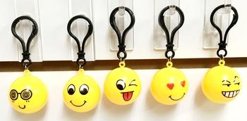 Image Emoji Ball Keychain