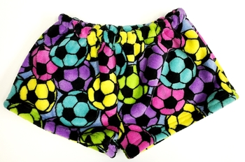 Image Rainbow Soccer Fuzzie Short