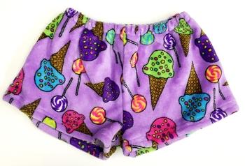 Image Lollis and Cones Fuzzie Shorts