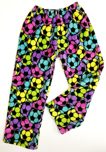 Image Rainbow Soccer Fuzzies Pant