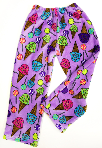 Image Lolli's and Cones Fuzzies Pant