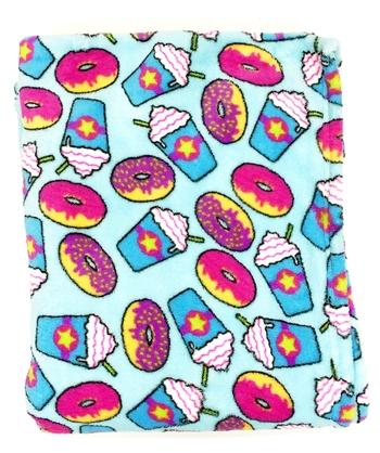 Image Donuts & Frap Fuzzies Blanket