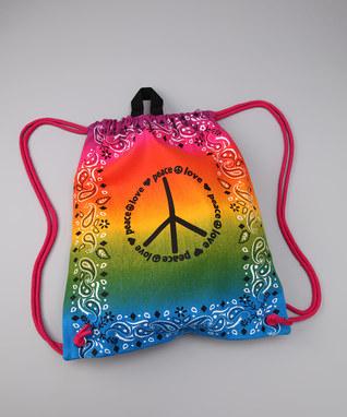 Image Tie Dye Bandana Sling Bag