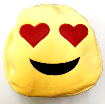 Image Emoji Plush Back Pack