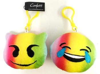 Image Tye Dye Emoji Backpack Clip