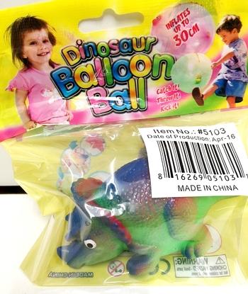 Image Dinosaur Balloon Ball