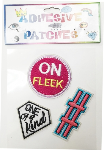 Image On Fleek/Hashtag/One of a kind Sticker Patch Set