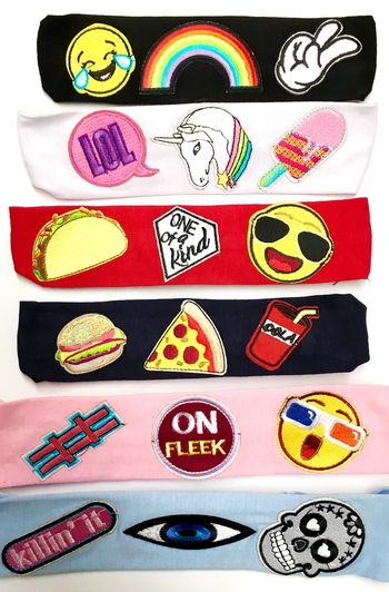 Image Patch Jersey Headwrap