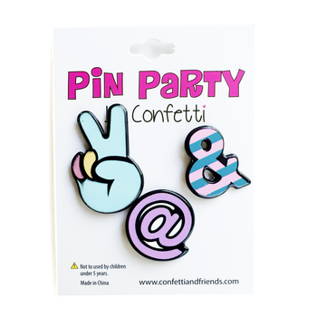Image 3 pack of Fun Pins