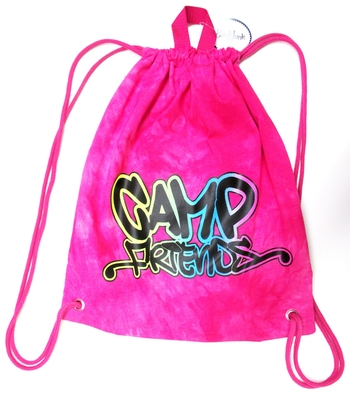 Image Sweat Shirt Camp friends Draw String Bag