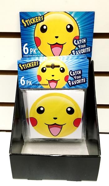 Image Cartoon 6pc Sticker Set
