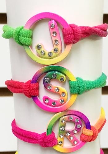 Image Initial Stretch Bracelets