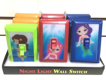 Image Mermaid Light Switches