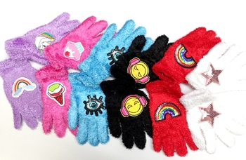 Image Cozy Patch Gloves