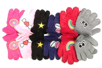 Image Child Gloves with Assorted Patch