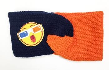 Image Knit Patch Headbands