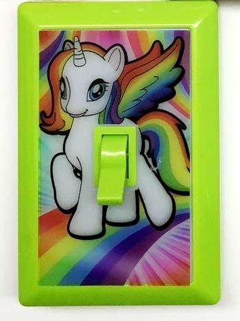 Image Unicorn Light Switch