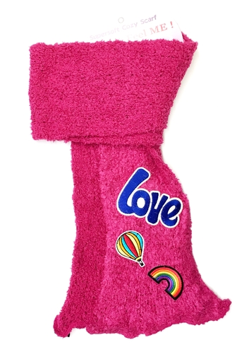 Image Love Patch Scarf