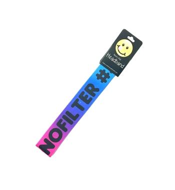 Image #NOFILTER#INSTAMOOD Rainbow No Slip Headwrap
