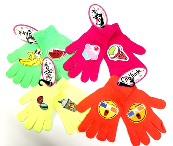 Image Neon Patched Gloves
