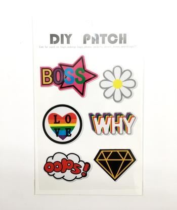 Image Puffy Boss Stickers