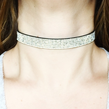 Image Pave Clear Choker