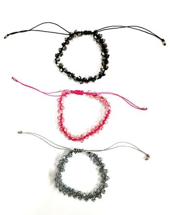 Image Crystal Beaded Bracelet