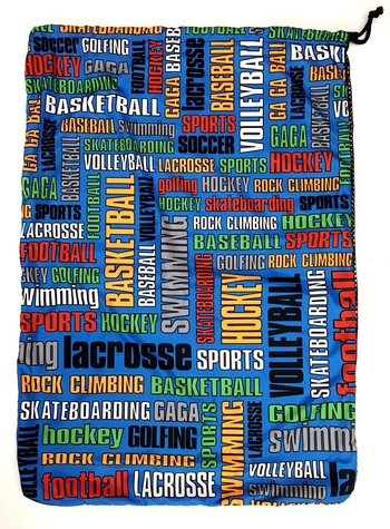 Image Sports Graffiti Laundry Bag