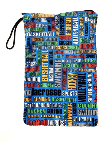 Image Sports Graffiti Sock Bag