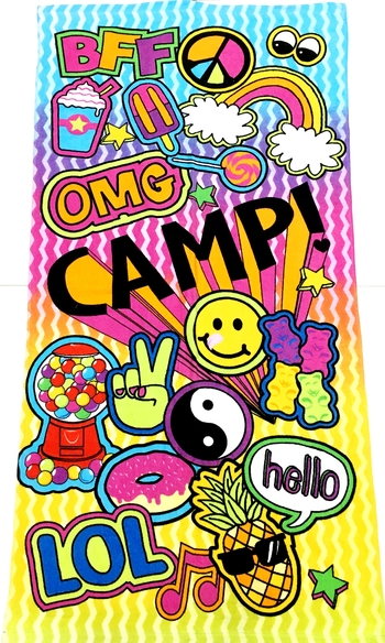 Image Camp Sticker Towel