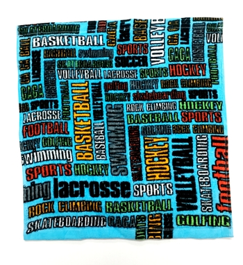 Image Sports Graffiti Washcloth Set