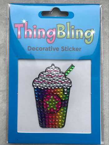 Image Rhinestone Frap Thing Bling Sticker