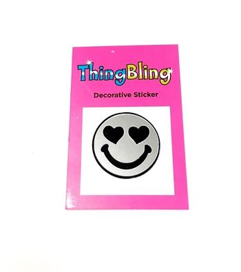 Image Mirror Heart Eyes Sticker