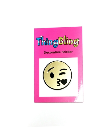 Image Mirror Kissy Face Sticker