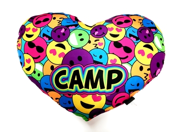 Image Emoji Heart Pillow