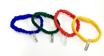 Image Camp Stretch Bracelet with Charm