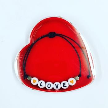 Image Heart Box with Bracelet